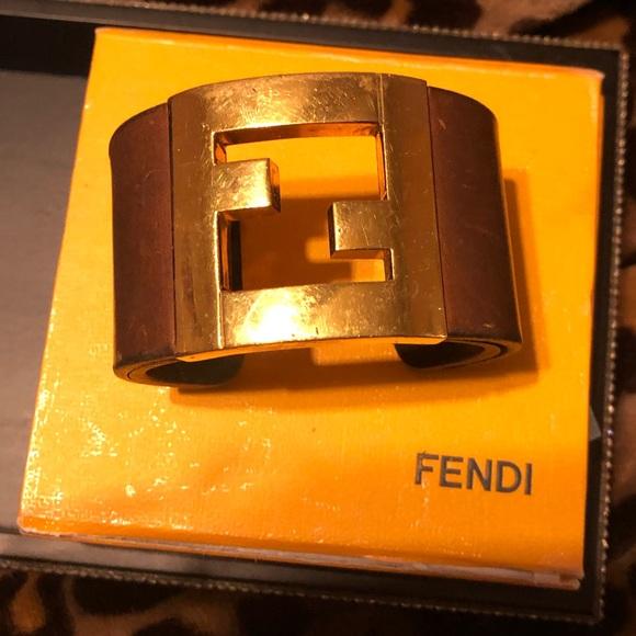 Fendi Jewelry - Fendi logo bracelet
